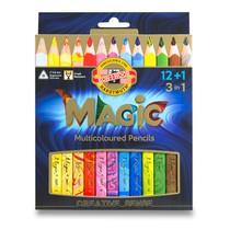 Pastelky Koh-i-noor Magic - 12 barev + blender