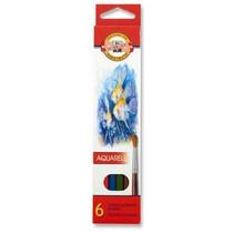 Pastelky KOH-I-NOOR Aquarell 3715 - 6 barev