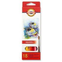 Pastelky KOH-I-NOOR Aquarell 3717 - 18 barev