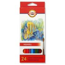 Pastelky KOH-I-NOOR Aquarell 3718 - 24 barev