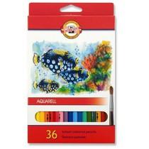 Pastelky KOH-I-NOOR Aquarell 3719 - 36 barev