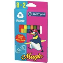 Popisovače Centropen MAGIC 2549 - 8 barev + 2