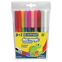Popisovače Centropen DUOMAGIC 2599 - 8 barev + 2