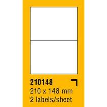 Etikety na archu SOREX - A4, 210 x 148mm, 200 etiket