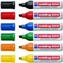 Popisovač permanentní Edding 500 - 10ks