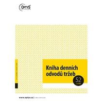 Kniha denních odvodů tržeb A4