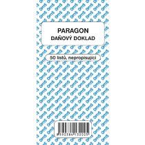 Obchodní paragon, 50 listů