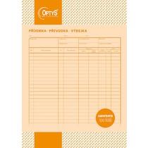Samopropisovací příjemka, převodka, výdejka A4, 100 listů