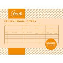 Samopropisovací příjemka, převodka, výdejka A5, 100 listů
