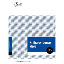 Kniha evidence klíčů A4, 96 listů