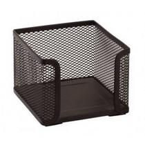 Zásobník drátěný na špalíčky - 100 x 100 x 100 mm, Černý