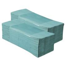 Papírové ručníky skládané Z-Z - 1 vrstva, zelené recykl, 5000ks