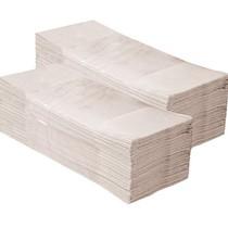 Papírové ručníky skládané Z-Z - 1 vrstva, šedé recykl, 5000ks