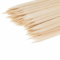 Špejle lipové hrocené - 4 × 210 mm, 1 x hrocené, 100ks