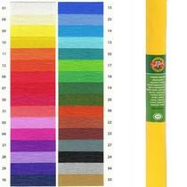 Krepový papír KOH-I-NOOR 9755 - 10, tmavě žlutý