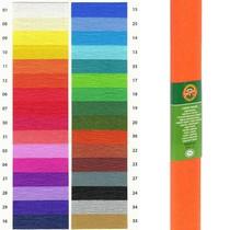 Krepový papír KOH-I-NOOR 9755 - 12, tmavě oranžový