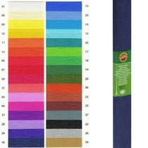 Krepový papír KOH-I-NOOR 9755 - 16, tmavě modrý