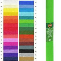 Krepový papír KOH-I-NOOR 9755 - 17, světle zelený
