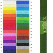 Krepový papír KOH-I-NOOR 9755 - 20, zelený