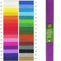 Krepový papír KOH-I-NOOR 9755 - 21, fialový