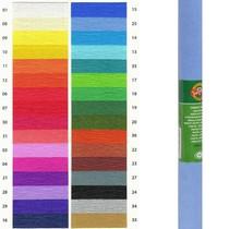 Krepový papír KOH-I-NOOR 9755 - 25, světle modrý