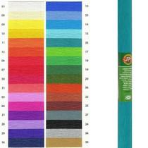 Krepový papír KOH-I-NOOR 9755 - 35, zelenomodrý