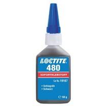Loctite 480 - 50 g vteřinové lepidlo černé
