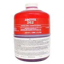 Loctite 262 - 2 L zajišťovač šroubů VP