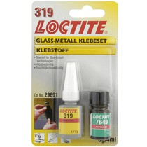 Loctite AA 319/7649 - 5 g, 4 ml sada lepidlo sklo - kov