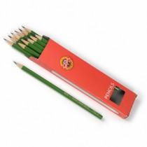 Tužka grafitová 1703 3 zelená