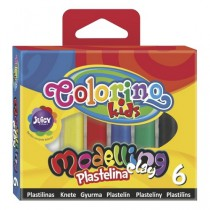 Modelína Colorino 6 barev