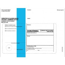 DORUČENKA modrá C5, správní řád