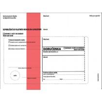 DORUČENKA červená C5, správní řád