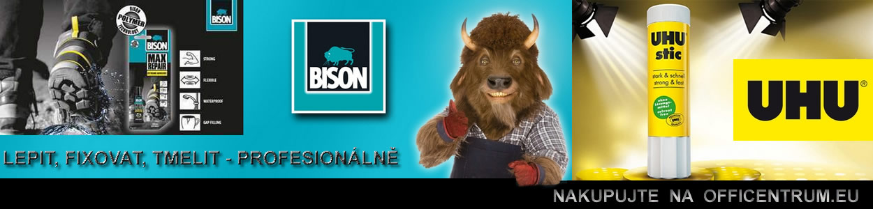 Lepidla Bison + Uhu - OFFICENTRUM