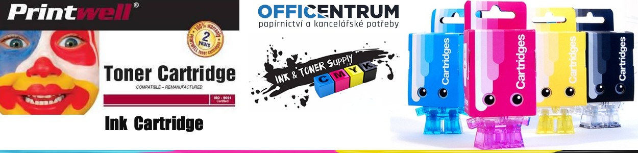 Printwell - Tonery a cartrige - OFFICENTRUM